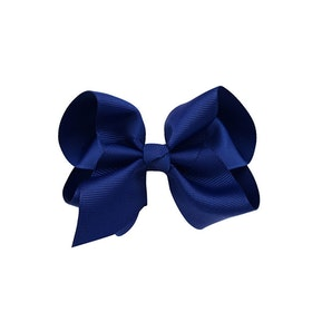 Hårklämma - Fancy Bow Midnight Blue
