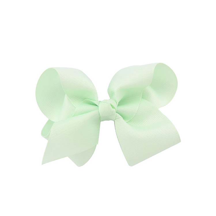 Hårklämma - Fancy Bow Mint