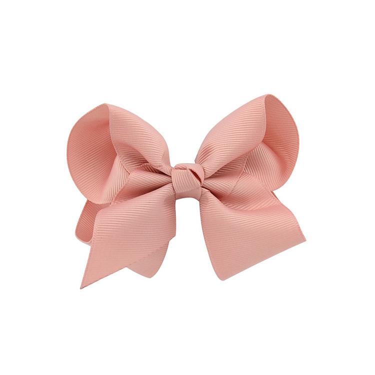 Hårklämma - Fancy Bow Rosé
