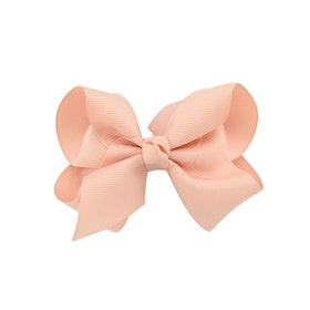 Hårklämma - Fancy Bow Dusty Pink