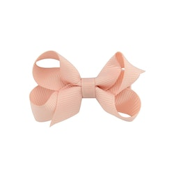 Hårklämma - Mini Bow Dusty Pink