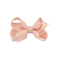 Hårklämma - Mini Bow Dusty Pink
