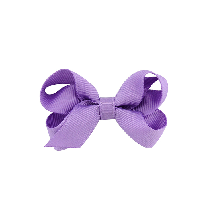 Hårklämma - Mini Bow Lilac