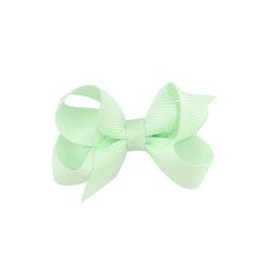 Hårklämma - Mini Bow Mint