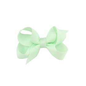Hårklämma - Mini Bow Mint