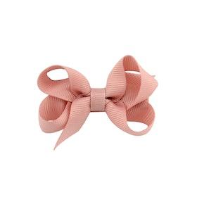 Hårklämma - Mini Bow Rosé