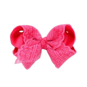 Hårklämma - Fancy Lace Bow Candy