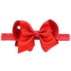 Hårband - Fairy Bow Red Rose