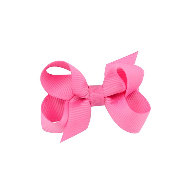 Hårklämma - Mini Bow Pink