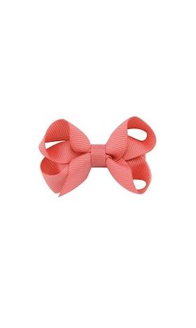 Hårklämma - Mini Bow Peach