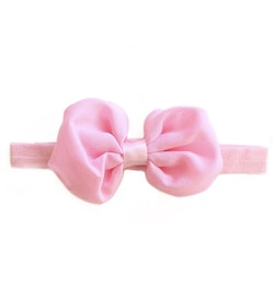 Hårband - Nelly Bow Baby Pink