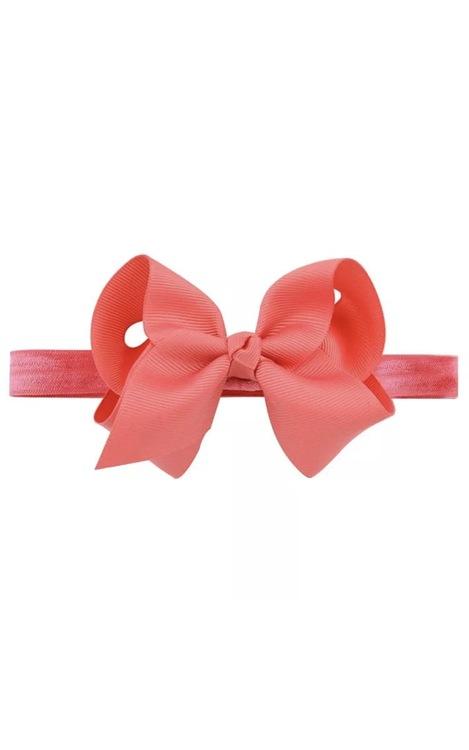 Hårband - Fairy Bow Peach