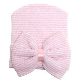 Nyfödd mössa - Newborn Bow Pink