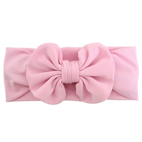 Hårband - Mimmi Bow Baby Pink