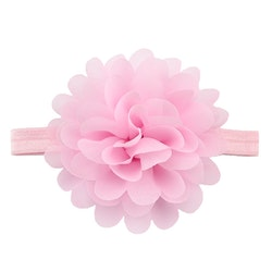 Hårband - Minnos Bow Baby Pink