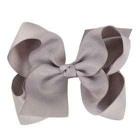 Hårklämma - Fancy Bow Gray