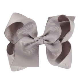 Hårklämma - Fancy Bow Gray