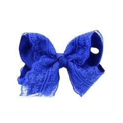Hårklämma - Fancy Lace Bow Ocean