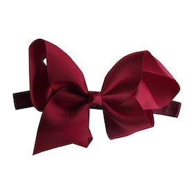 Hårband - Fairy Bow Burgundy