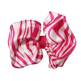 Hårklämma - Cicci Bow Pink Tiger