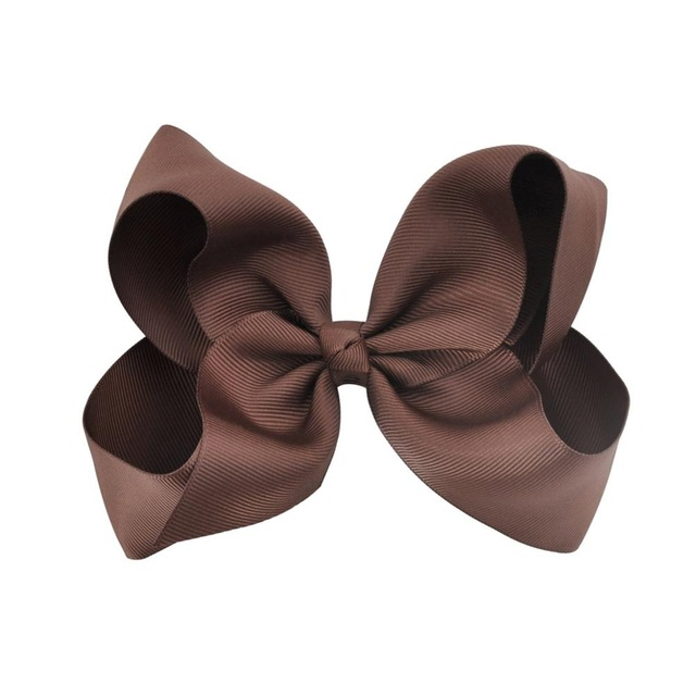 Hårklämma - Fancy Bow Brown