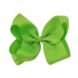 Hårklämma - Fancy Bow Green