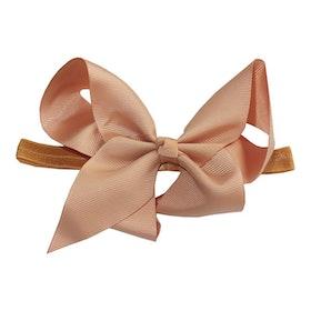 Hårband - Fairy Bow Cappuccino