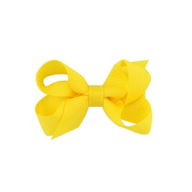 Hårklämma - Mini Bow Lemon