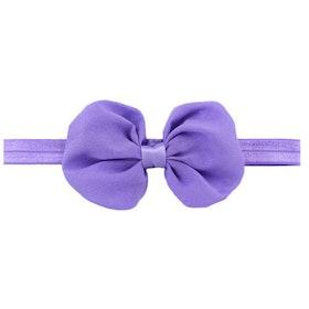 Hårband - Nelly Bow Lavendel