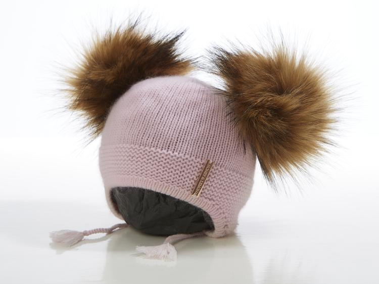 Kidsbeanie - Bunny Dubble Pompom (1½-5y)