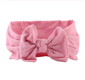 Hårband - Lucy Bow Baby Pink