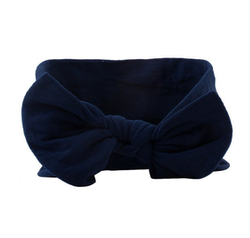 Hårband - Lucy Bow Midnight Blue