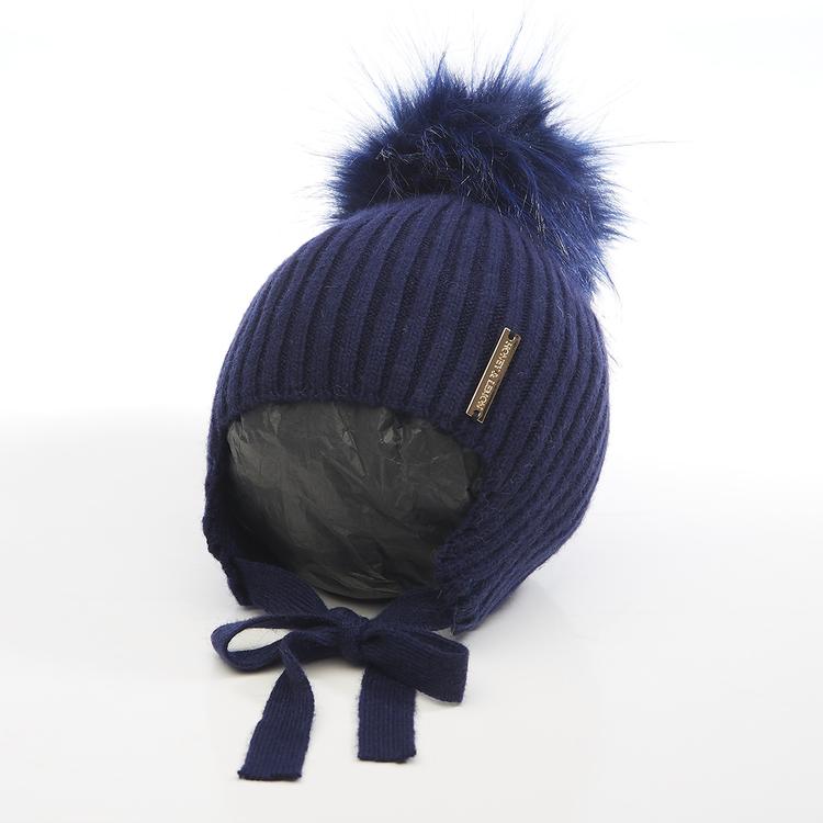 Babymössa -  Comfy Single Pompom (3-18m)