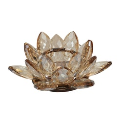 MB Tealight Holder Lotus Cryst