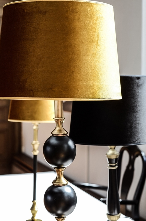 Charlotta Lampfot Hög 66 cm