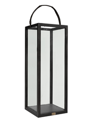 FLOOR LANTERN Black Small, Artwood