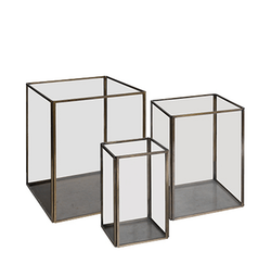 LAUSANNE lantern 3-set, Artwood