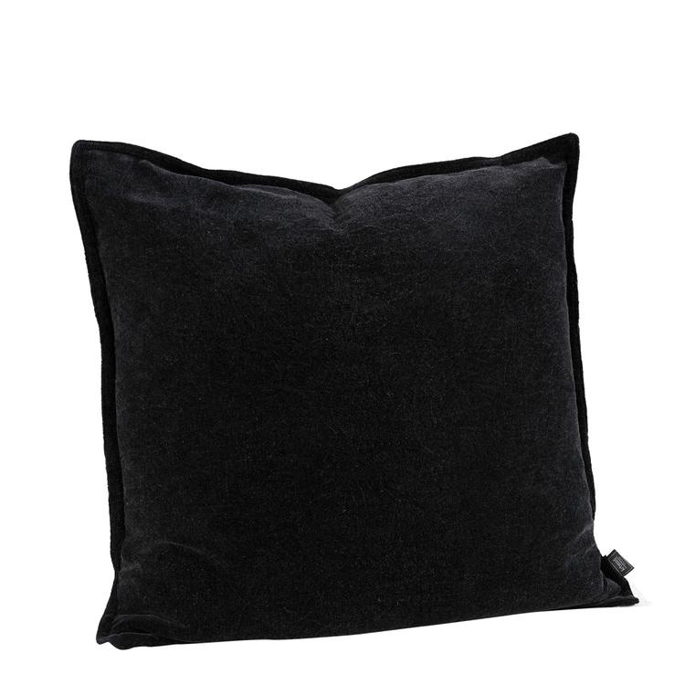 KELLY PLAIN BLACK Cushioncover, Artwood