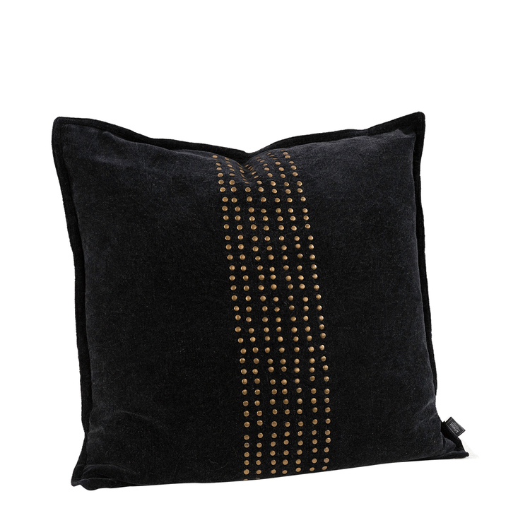 KELLY STUDS BLACK Cushioncover, Artwood