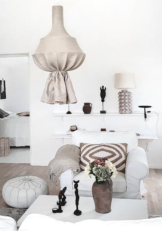 Hallbergs - Empire lampskärm natur