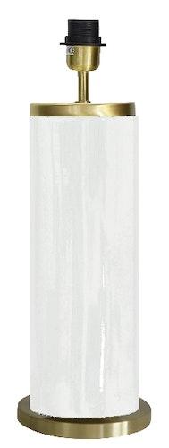 LISSABON LAMPFOT - VIT - 59 CM