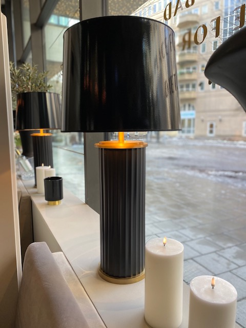 Hallbergs - Lacado Lampskärm blank