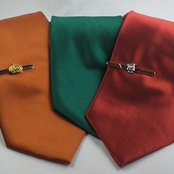 Slips från ATTACO i paket - Slipsnål med mönster - Stor valfrihet ord 599 - 50 % rabatt
