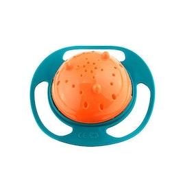 Den roterande matskålen - Barnet äter själv utan spill! - 50 % rabatt