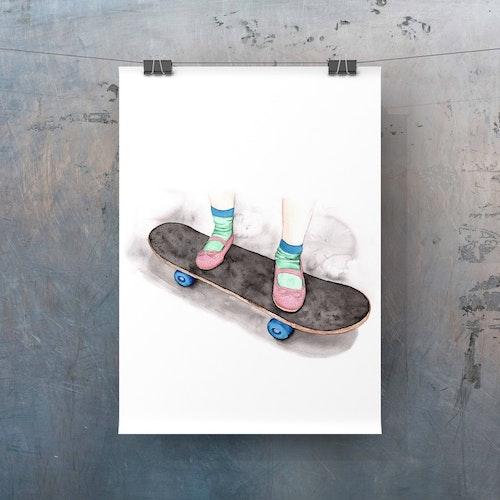 Skateskor