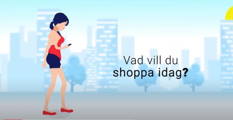 Vad vill du shoppa idag?