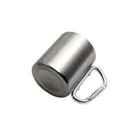 Stålkåsa/stålmugg 2,2 dl
