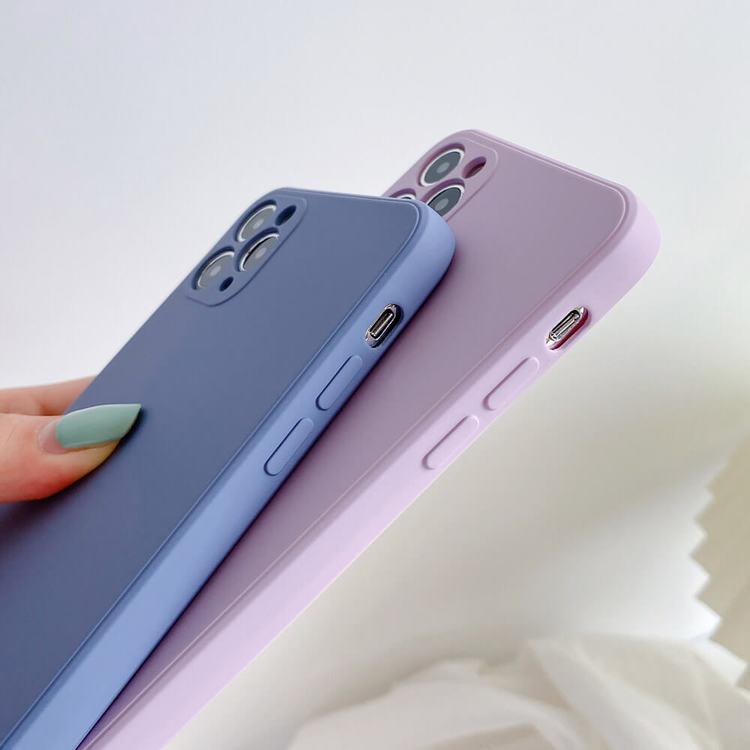 iPhone X silikon skal Anti-chock Mjukt TPU Rosa