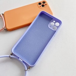 iPhone X silikon skal Anti-chock Mjukt TPU Lila