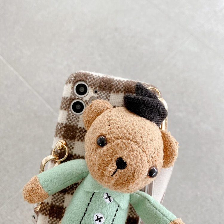 Vackert docka design fodral till iPhone X MAX